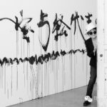 Yoko-Ono-and-her-artwork