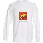 MLilo Logo T-shirt LS WHT TAO Art tee