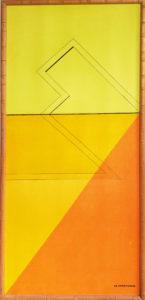 """""""Dividing Line"""" by: Estate Artist M. McDonald"""